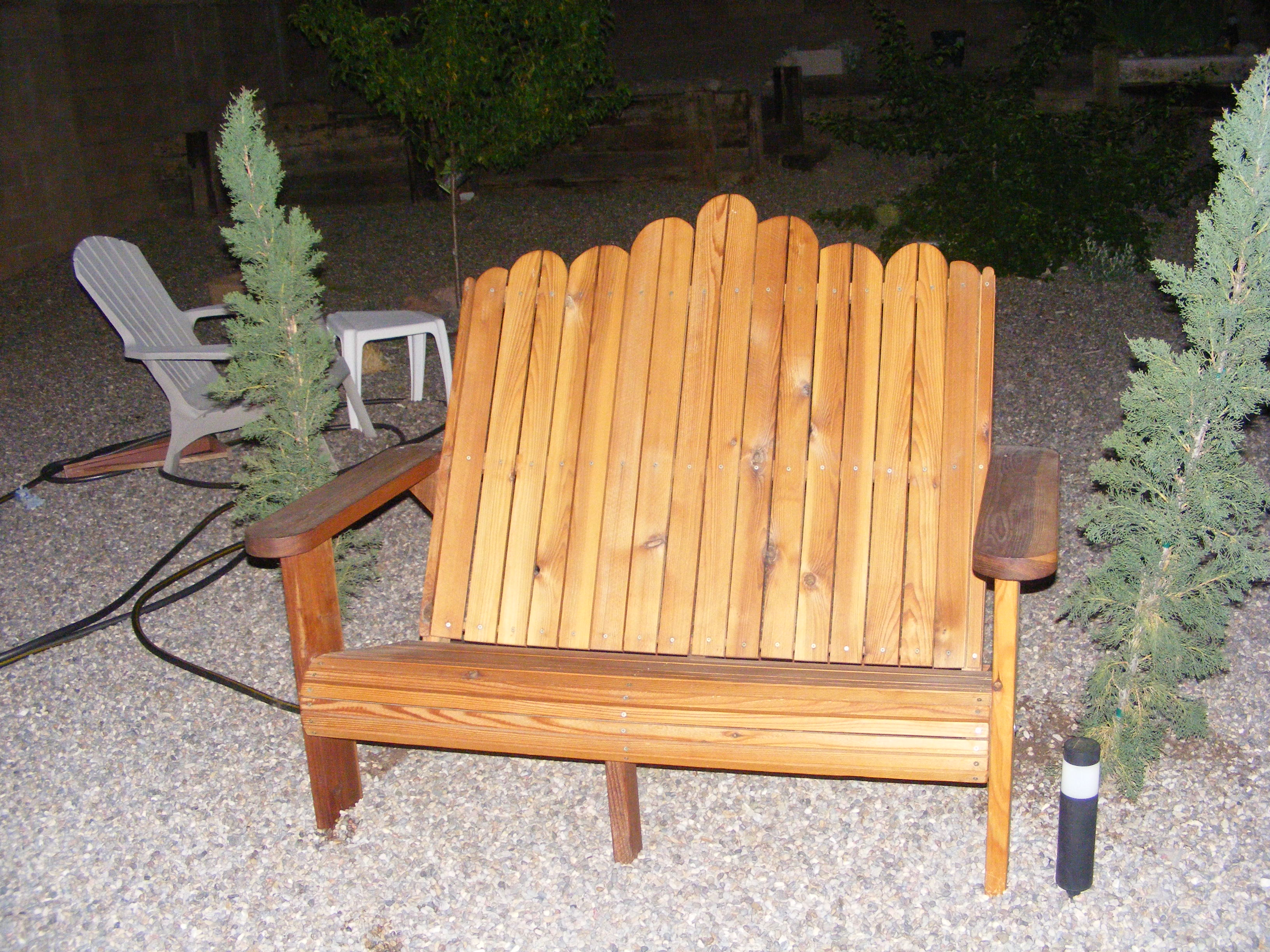 2017 01 wood patio chair -  You Can Also Adirondack Bench